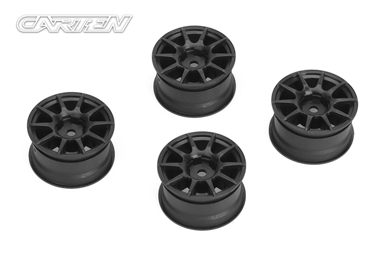 NBA267 10 Spoke Wheel +1mm (Gray)